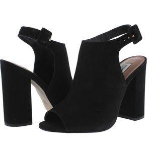 STEVE MADDEN open-toed platform heel